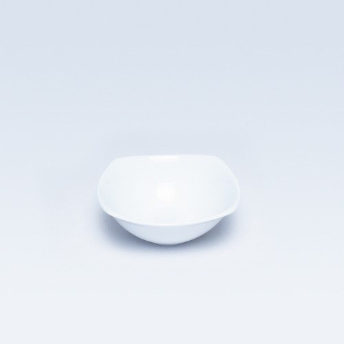 3506 Dankotuwa White SQ Fruit Saucer