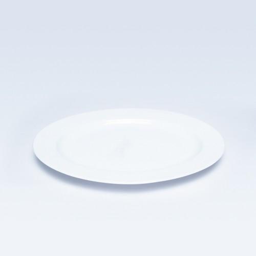 545 White Oval Platter 12