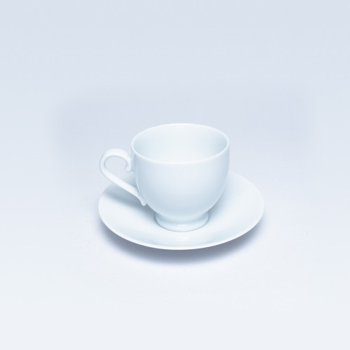 White Cup & Saucer (Royal Fernwood) 00990A0 / 00991A0