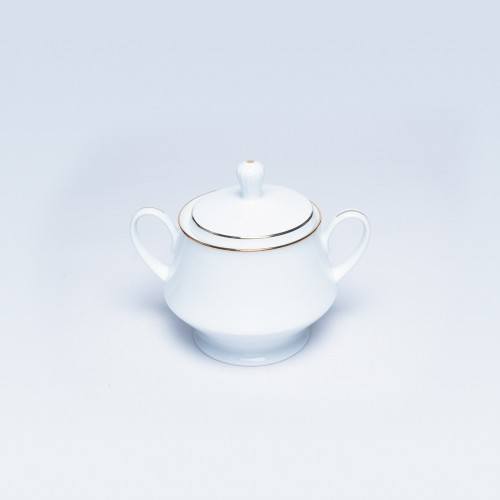 91127  Noritake Gold Line Sugar Bowl