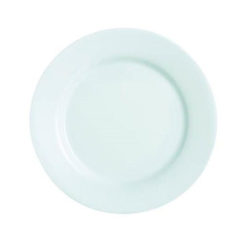 Opal White Dinner Plate 11 inch