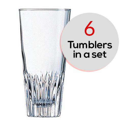 6 pcs Set Scotland Hb Tumbler 330ml